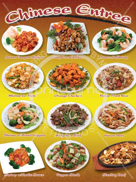 Gluten Free Chinese Food Items